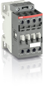 ABB CONTACTOR 4KW 1NO AUXILIARY 100-250VACDC