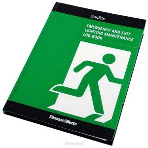 Stanilite EMERGENCY LIGHTING LOG BOOK