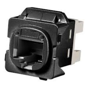 Commscope JACK C6 SL W/ CLI/HPM ADAPT BLACK (10)