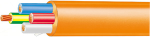 Advance Cable CABLE ORANGE CIRCULAR 3 C & E 2.5MM