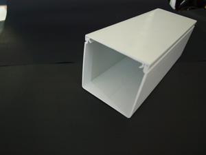 Aussie DuctTRUNKING MAXI WHITE 100 X 100MM
