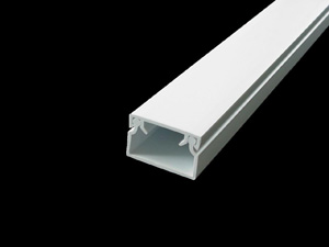 Aussie Duct TRUNKING MINI WHITE 25 X 16MM