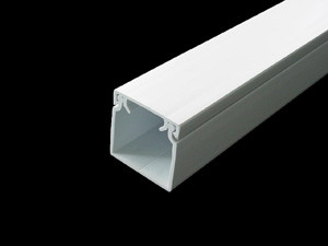 Aussie Duct TRUNKING MINI WHITE 25 X 25MM