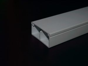 Aussie Duct TRUNKING MINI WHITE 50 X 25MM DUAL