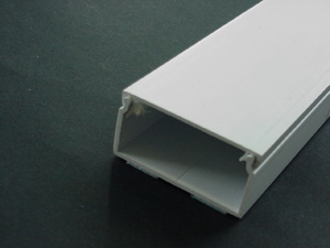 Aussie Duct TRUNKING MINI WHITE 50 X 25MM