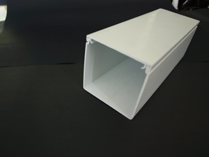 Aussie Duct TRUNKING MAXI WHITE  50 X 50MM