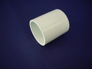 Aussie Duct COUPLING 20MM ID WHITE COMMUNICATIONS