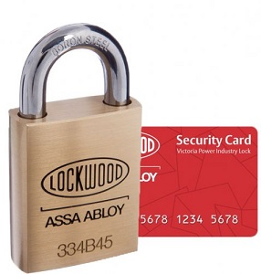 Lockwood PADLOCK POWER INDUSTRY KEYED ALIKE