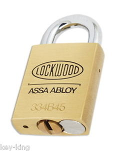 Lockwood PI PADLOCK KEYED ALIKE TO KEY NO R850