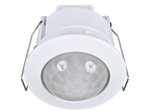 Brilliant Lighting EYE 360D REC PIR SECURITY SENSOR WHITE