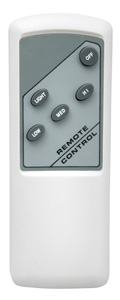 Brilliant Lighting CEILING FAN REMOTE CONTROL - BASIC