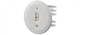Clevertronics LIFELIGHT LED REC N/M 90MM RND HEAD WHT