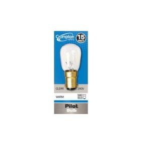 Crompton LightingPI25SESC LAMP PILOT 25W SES 240V CLEAR