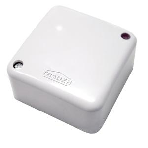 TraderJUNCTION BOX SMALL WITH 4 LOOSE TERMINAL