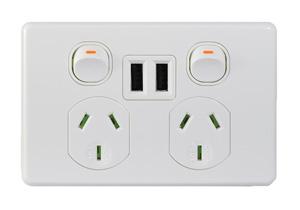 TraderPUMA DUAL USB CHARGER COMB FULLY INTEG