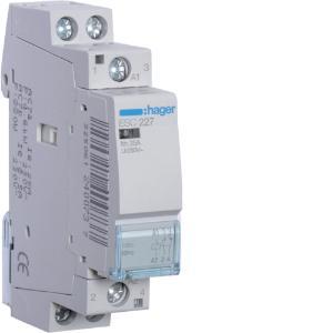 HagerCONTACTOR 25A 1NO+1NC 230V