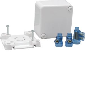 HagerJUNCTION BOX SMALL 3 CONNECTORS