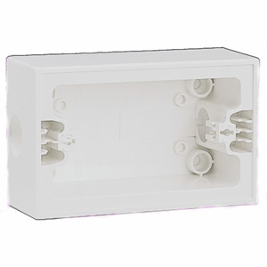 HPM Industries SURFACE MOUNT BLOCK WHITE