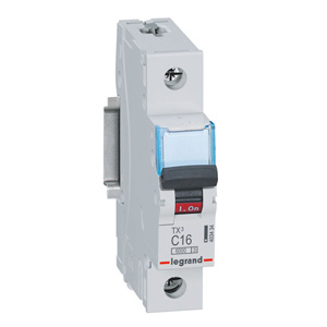 Legrand Electricals MCB 1 POLE C CURVE 6KA 250VAC 16A