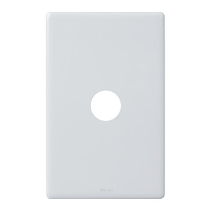 Legrand Electricals SWITCH 1 GANG GRID & PLATE WH
