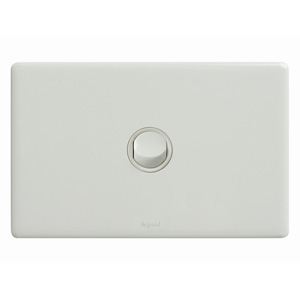 Legrand Electricals SWITCH 1 GANG HORIZ 16A 250V WH