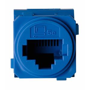 Legrand ElectricalsE-MEC CAT-5E RJ45 DATA-SOCKET BLUE