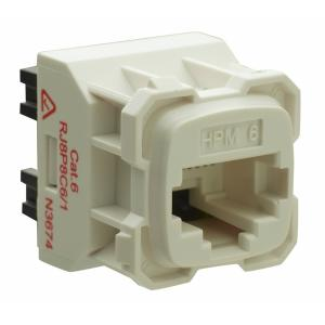 HPM Industries SOCKET RJ45 8P8C CAT6