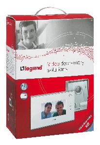 "Legrand Electricals DES LEGRAND VIDEO KIT COLOR 7"" WHITE-2WI"