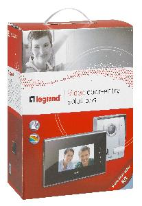 "Legrand Electricals DES LEGRAND VIDEO KIT COLOR 7"" BLACK-2WI"