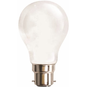 Nelson LampsLAMP E HALOGEN GLS 42W BC FROST