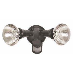 Nelson LampsES69BVP SENSOR PIR TWIN C/W LAMPS BOXED