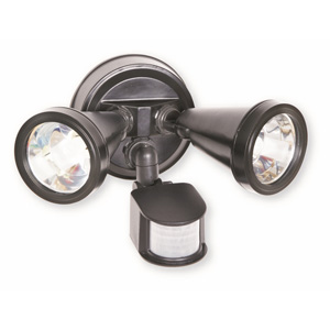 Nelson Lamps SENSOR TWIN BLACK G9 C/W LAMPS