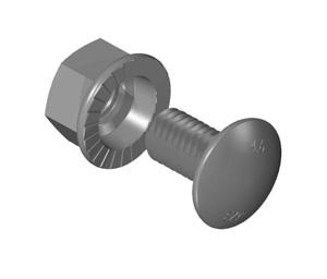 Ezy-StrutBOLT CUP 3/8 X 18 HD