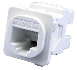 Madison TechnologyJACK CAT5E WHITE