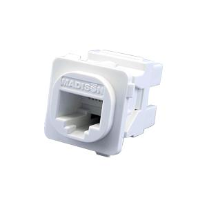 Madison Technology JACK CAT6 WHITE