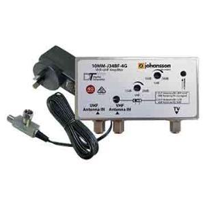 Match MasterAMP MASTHEAD UHF/VHF 34DB 4G FILT&P/SUPP