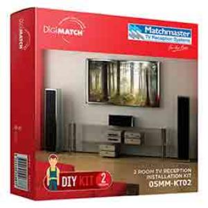 Match Master TV RECEPTION INSTALL KIT 2 ROOM