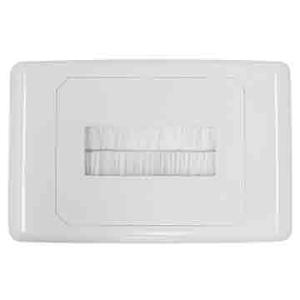 Match Master A-CLASS OUTLET PLATE - BRUSH COVER