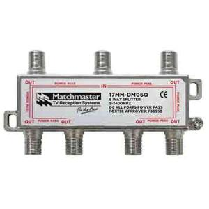 Match Master SPLITTER 6 WAY FOR TDT SYSTEMS