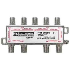 Match Master SPLITTER 8 WAY FOR TDT SYSTEMS