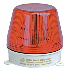 Mechtric STROBE LIGHT 240VAC RED