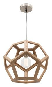 Mercator Clipper PEETA 40CM TIMBER PENDANT