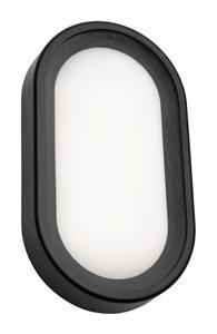 Mercator ClipperARENA LED OUTDOOD BUNKER OVL LRG 18W BLK