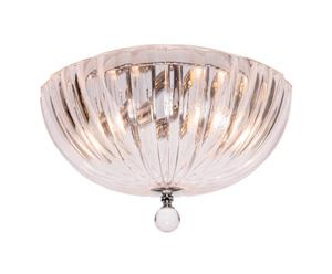Mercator ClipperPOTENZA 2LT CEILING LIGHT SMALL CRYSTAL