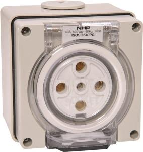Kat SOCKET OUTLET 3PHASE 5 PIN 40A