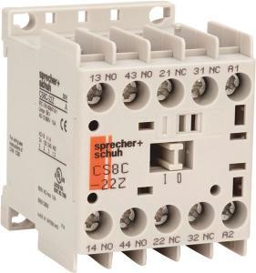 Sprecher & SchuhRELAY 2NO 2NC 48VDC COIL