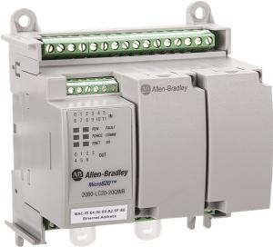 Allen Bradley M820 12 24 VDC IN/7 REL OUT/1 AN OUT