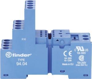 Rele FinderRELAY BASE DIN RAIL 14 PIN 4C/O LED MOD