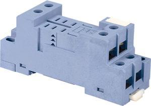 Rele FinderRELAY BASE DIN RAIL SOCKET 2P+LED OPT