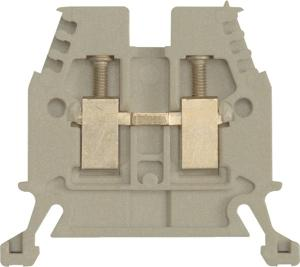 Sprecher & Schuh TERMINAL BLOCK THROUGH 4MM DIN MT GREY